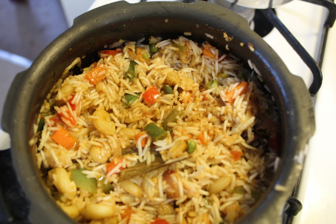 Pasta Pulao Italy Meets Indian Masala And Rice
